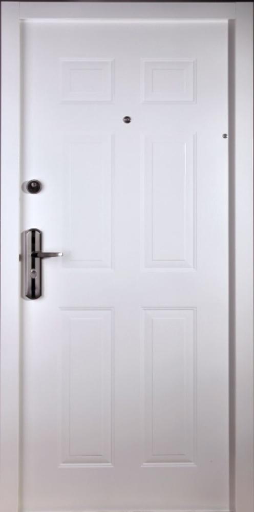 Bezpečnostné dvere – HI SEC KLASIK Biela