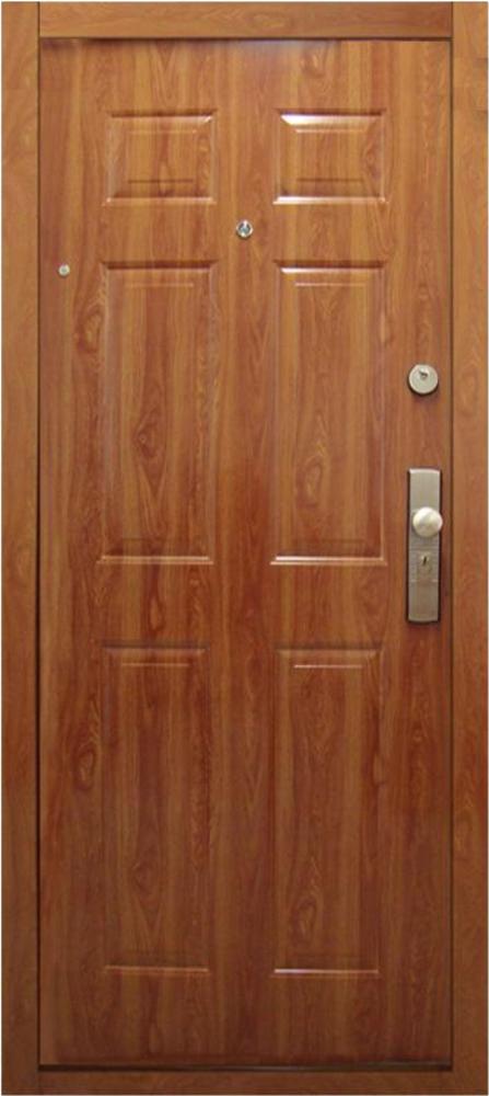 Bezpečnostné dvere – HI SEC KLASIK Zlatý dub