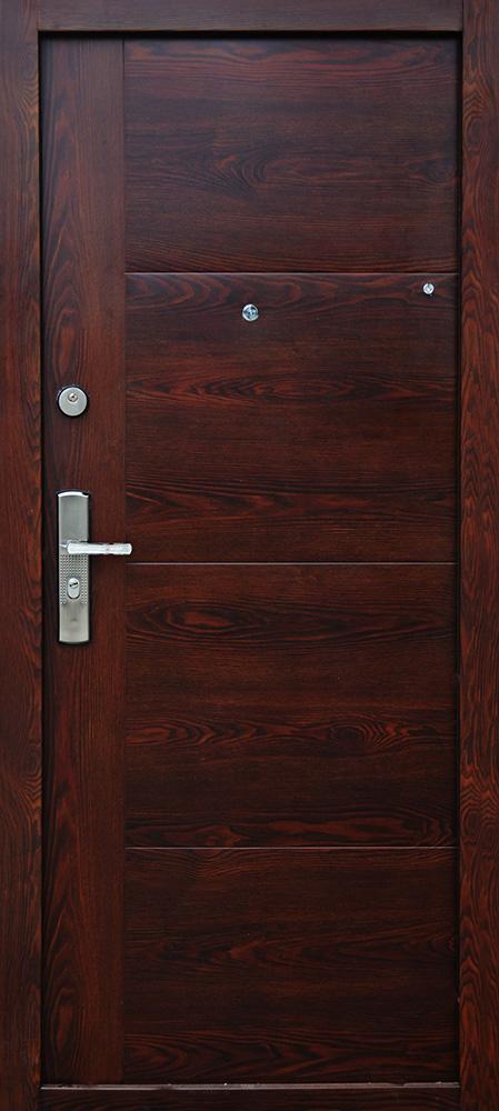1424380db6 HI SEC TREND ORECH MATNÝ - Certifikované bezpečnostné dvere ACTIVE