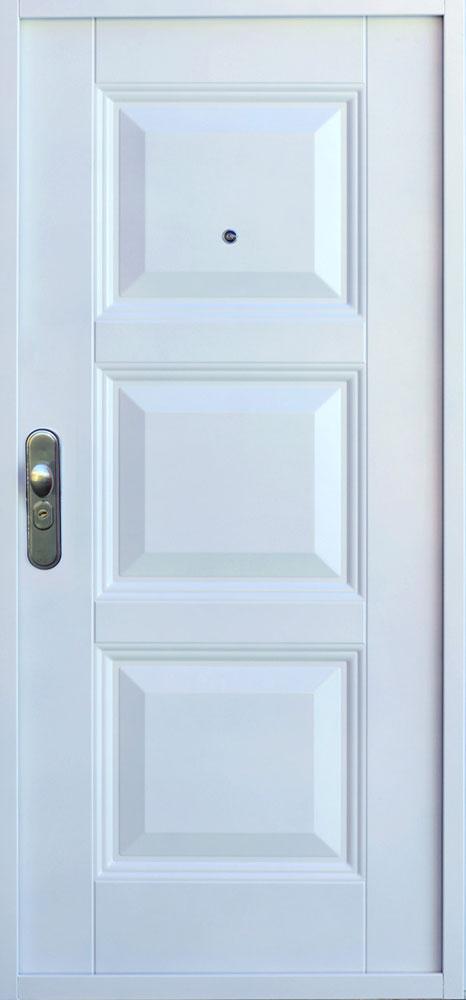 Bezpečnostné dvere – SOFIA RETRO Buk Biela