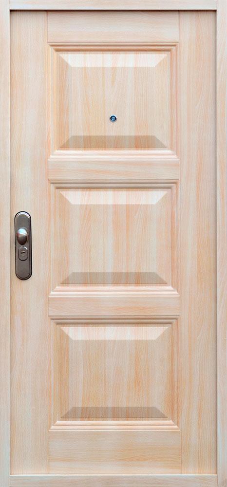 Bezpečnostné dvere – SOFIA RETRO Buk Svetlý