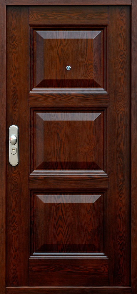 Bezpečnostné dvere – SOFIA RETRO Dub Zlatý